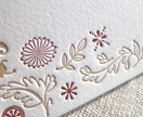 Letterpress Notecards | Leaves