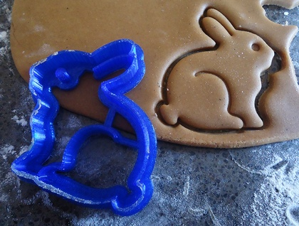3D Printed Bunny Cookie Cutter