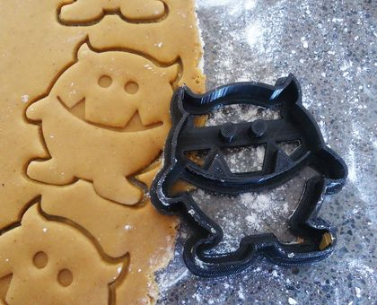 3D Printed Monster Cookie Cutter