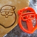 3D Printed Santa Cookie Cutter