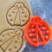 3D Printed Lady Bug Cookie Cutter