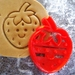 3D Printed Strawberry Cookie Cutter