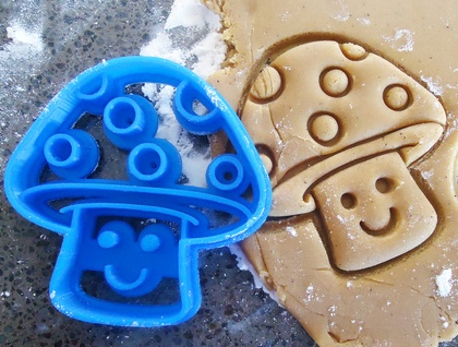 3D Printed Toadstool Cookie Cutter
