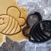 3D Printed Bee Cookie Cutter