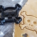 3D Printed Skull and Cross Bone Cookie Cutter