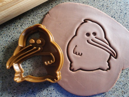 3D Printed Kiwi Cookie Cutter
