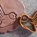 3D Printed Fantail Bird Cookie Cutter