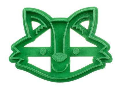3D Printed Fox Cookie Cutter