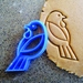 3D Printed Tui Bird Cookie Cutter