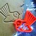 3D Printed Pīwakawaka/Fantail Bird Cookie Cutter