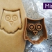 Mini 3D Printed Owl Cookie Cutter