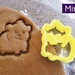 Mini 3D Printed Guinea Pig or Hamster Cookie Cutter