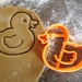 3D Printed Ducky Cookie Cutter