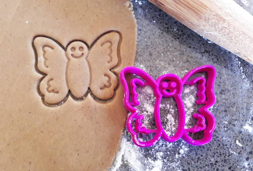 3D Printed Butterfly Cookie Cutter