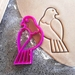 3D Printed Wood Pigeon Cookie Cutter