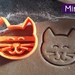 Mini 3D Printed Cat Cookie Cutter
