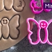 Mini 3D Printed Butterfly Cookie Cutter