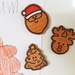 Christmas Magnet Set - Santa, Reindeer and Xmas Tree