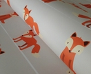 Removable Wallpaper - Fox Print