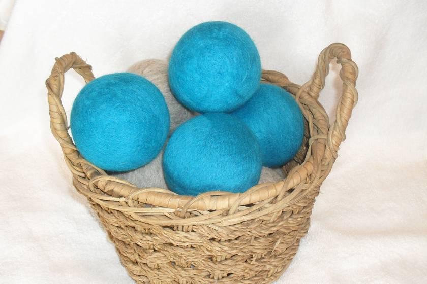 Dryer Balls NZ wool, teal