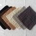 Crochet Cotton Wash Cloth