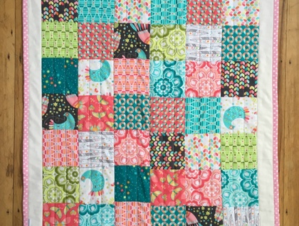 Custom Quilt - Made to Order - Play Mat Size