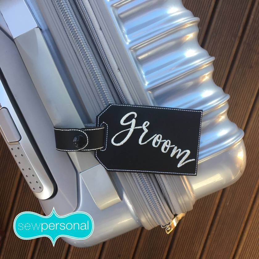 Personalised Luggage Tag
