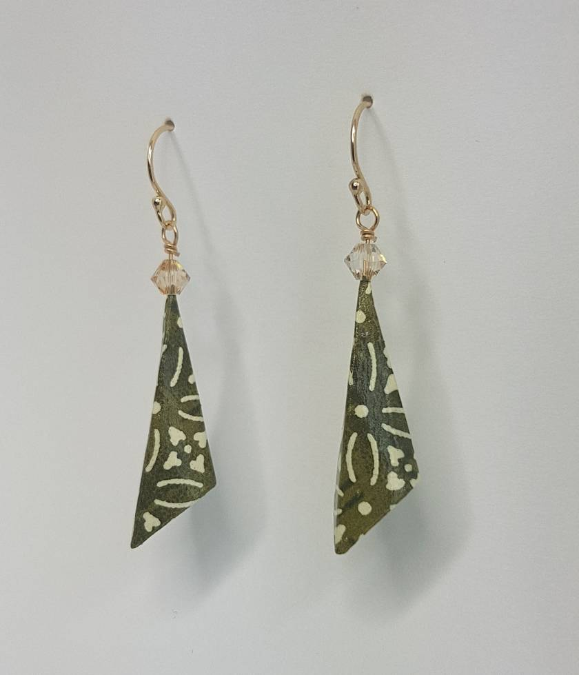 Origami Pylone Earrings