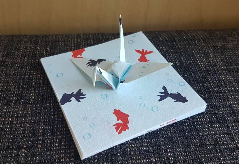 16 Origami Crane Pastel Small Special