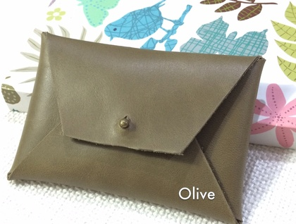 Genuine Cowhide Leather Cardholder