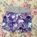 Purple unicorn print shorts size 4-5 years ON SALE