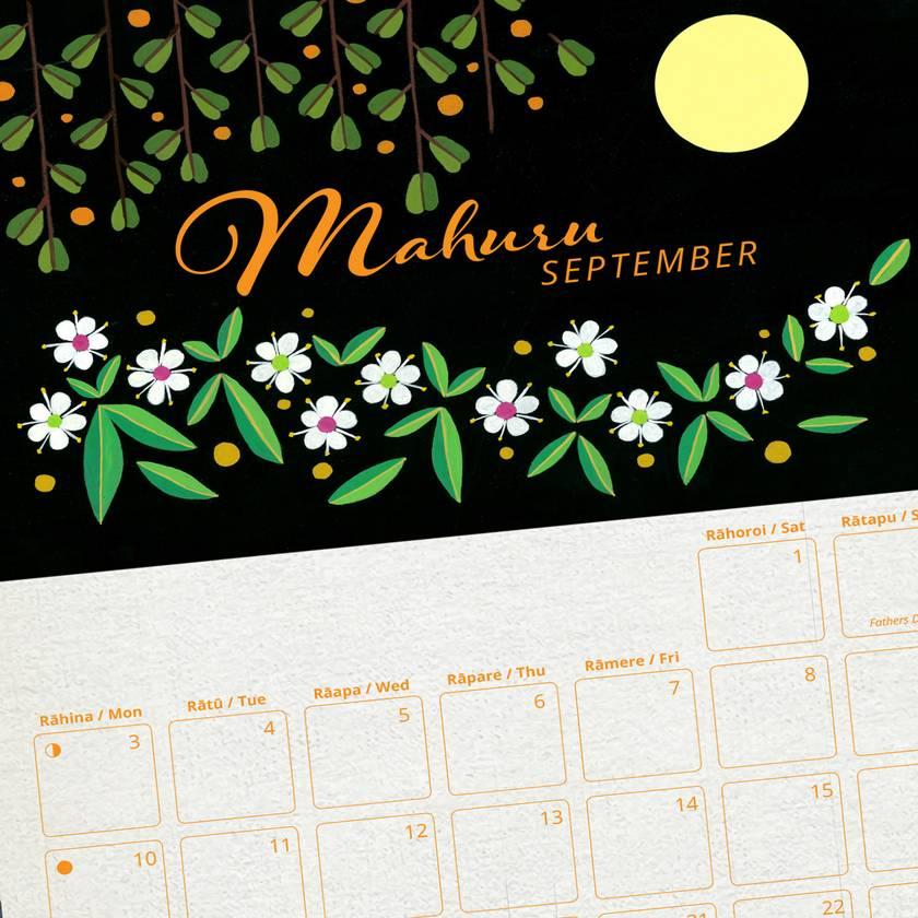 2018 New Zealand Flora Calendar
