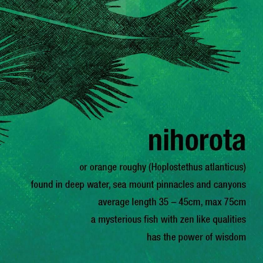 Nihorota limited edition print – New Zealand native fish series