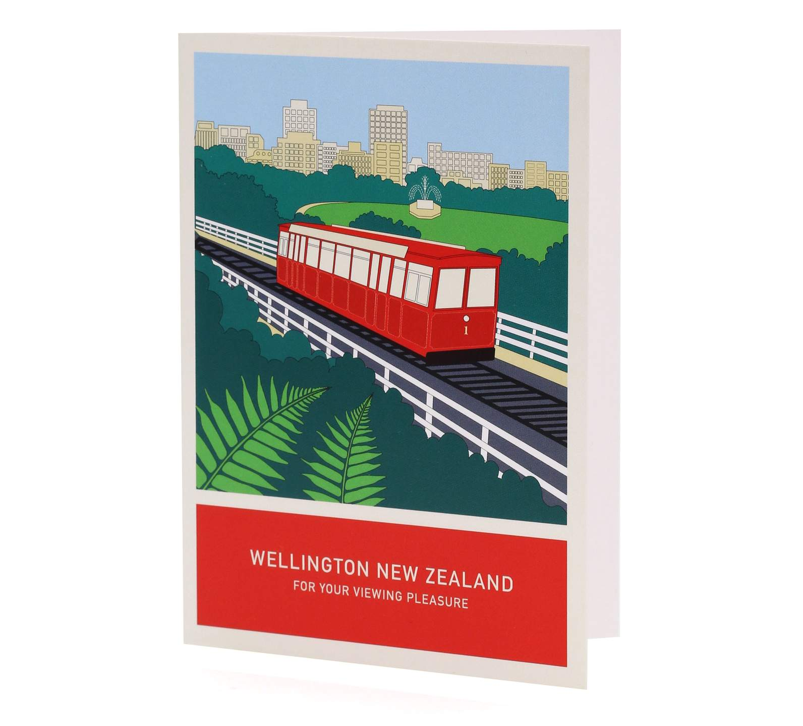 for your viewing pleasure a6 greeting card  wellington