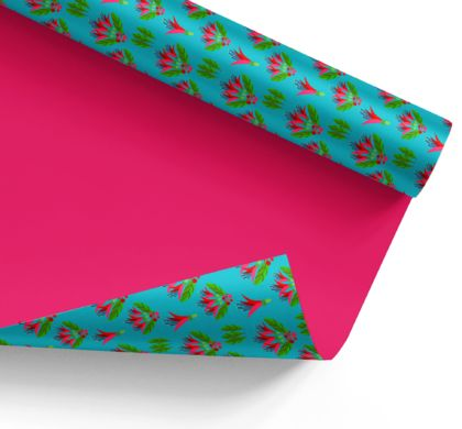 Wrapping Paper – Kotukutuku (tree fuchsia): NZ Flora and Fauna