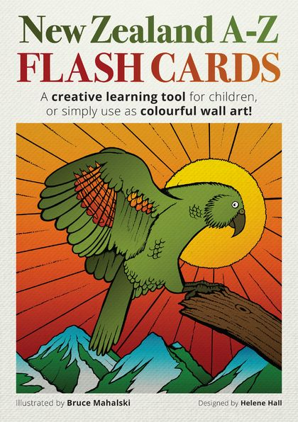 New Zealand A–Z Flash Card Set