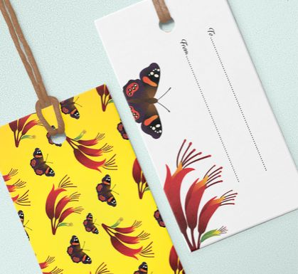 Gift tags – NZ Flora and Fauna