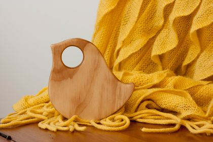 Wooden Teether - Robin