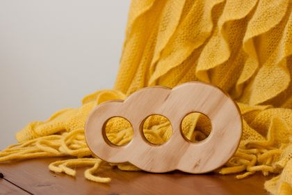 Wooden Teether - Blobby