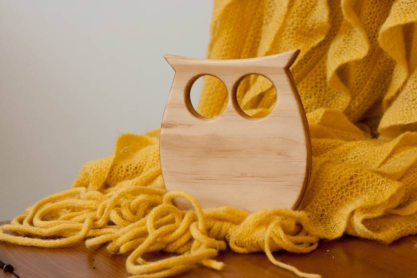 Wooden Teether - Alfred
