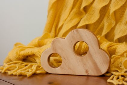 Wooden Teether - Stratocumulus