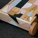 Wooden Block Trolley and Building Block Set (6 colours+ Natural finish) - MADE TO ORDER