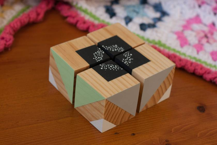 SALE! Puzzle Blocks - Mint (Set 1)