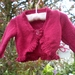 Gorgeous Raspberry Ballerina Cardigan