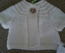 Delicious little swing cardy