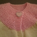 Pink and Cream Cardy