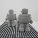 Decorative Concrete Robots