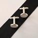 Silver & Concrete Cufflinks