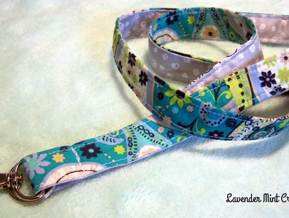 Fabric Lanyard Id Badge Holder With Breakaway Clasp