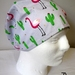 Scrub Hats- Elastic back (Large Size: perfect for longer hair or larger heads!)